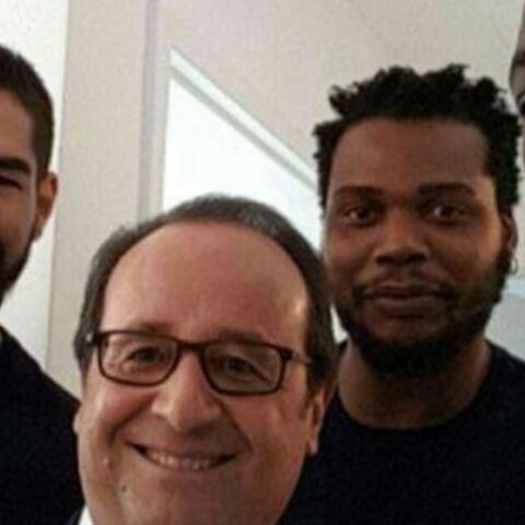 Photos – François Hollande: son marathon de selfies à Rio
