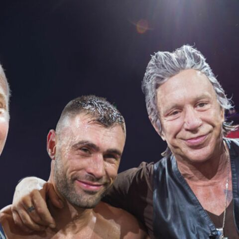 Gala By Night : Mickey Rourke invité vedette de la Fight Night à Saint-Tropez
