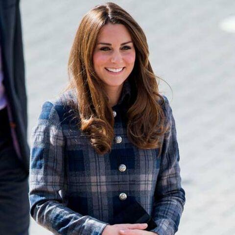 Kate Middleton, du tartan en Ecosse