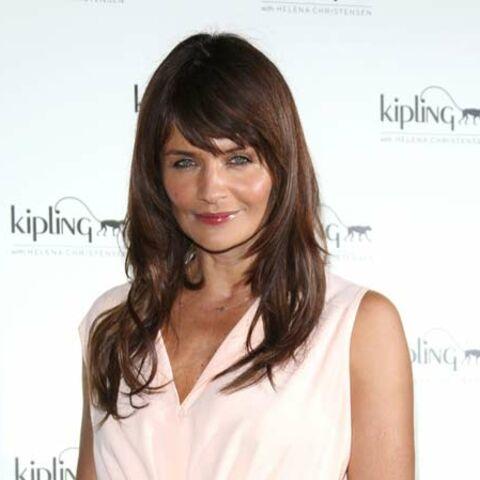 Helena Christensen styliste pour Kipling