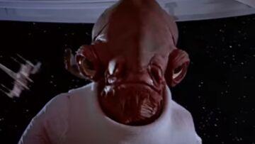 Star Wars, l'amiral Ackbar a perdu sa voix