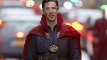 Benedict Cumberbatch en Dr Strange: premières photos