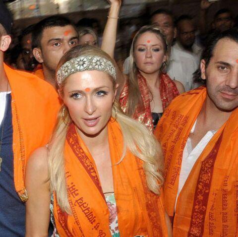 Paris Hilton star de la fashion week indienne