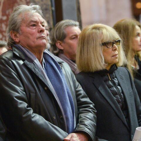 Photos- Mireille Darc et Alain Delon réunis pour Georges Lautner