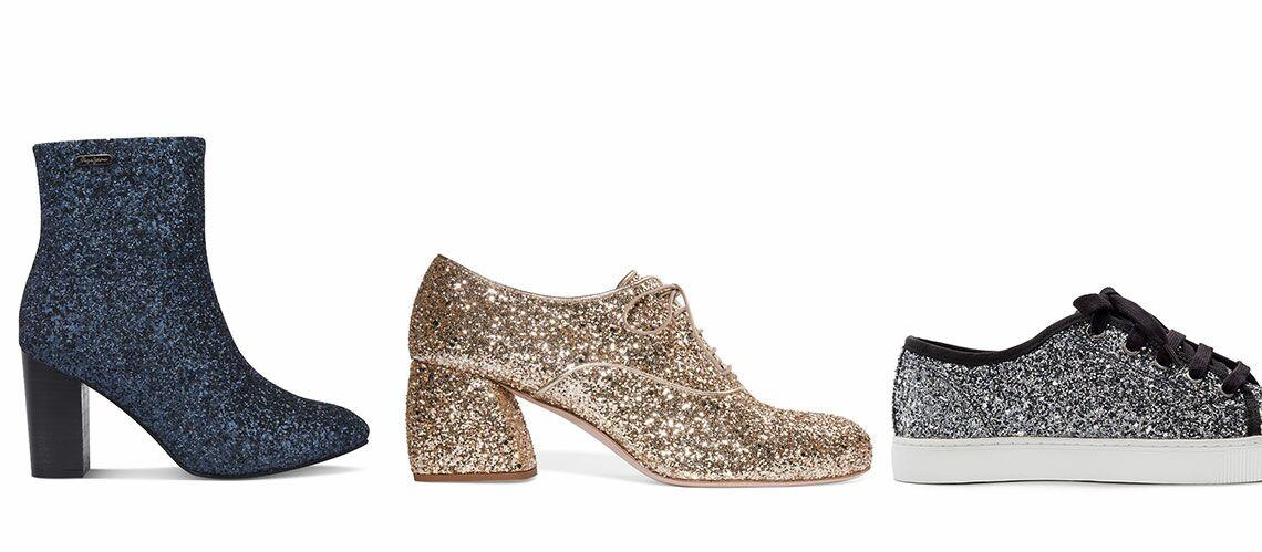 dd4014999e1 SHOPPING NOËL – 15 paires de chaussures à paillettes pour les fêtes - Gala