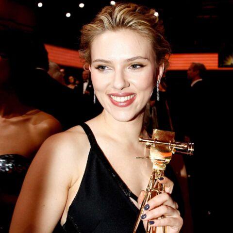Scarlett Johansson illumine Berlin