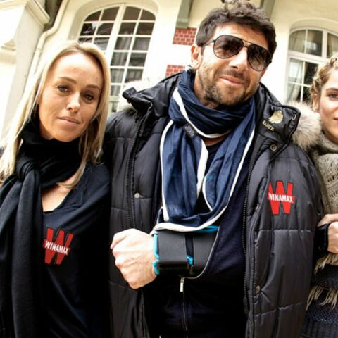 Patrick Bruel: journée poker avec Alice Taglioni et Cécile de Ménibus