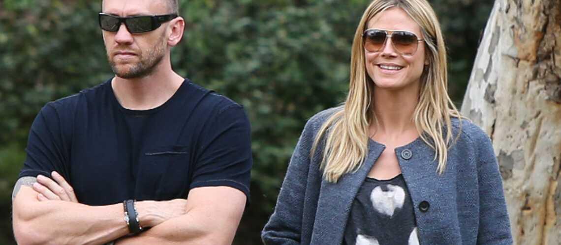 Heidi Klum: Clap de fin avec son bodyguard?