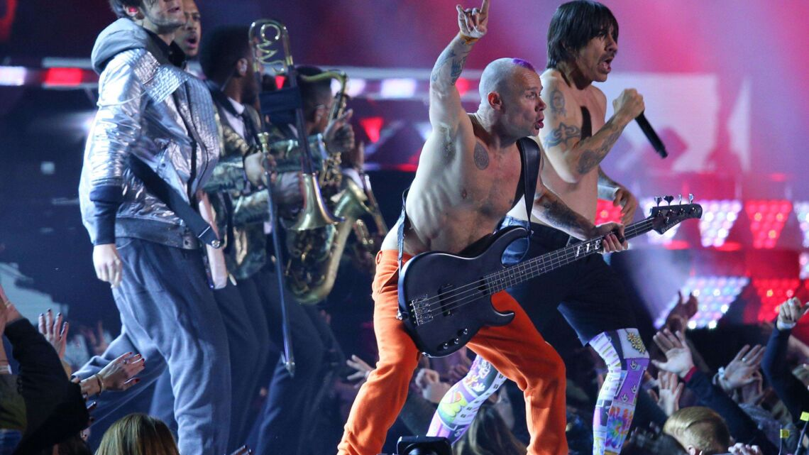 Les Red Hot Chili Peppers ont fait semblant au SuperBowl
