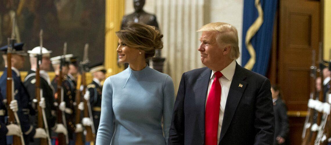 PHOTOS – Melania Trump: depuis l'investiture, ses premiers gestes d'amour pour Donald