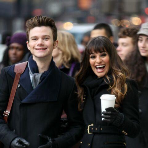 Lea Michele et Chris Colfer, les stars de Glee victimes d'un pirate