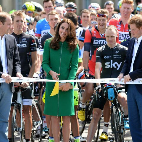 Tour de France: Kate, William et Harry donnent le coup d'envoi