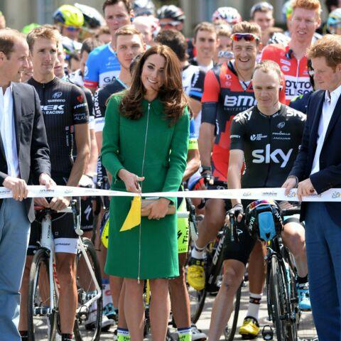 Tour de France: Kate, William et Harry donnent le coup d'envoi