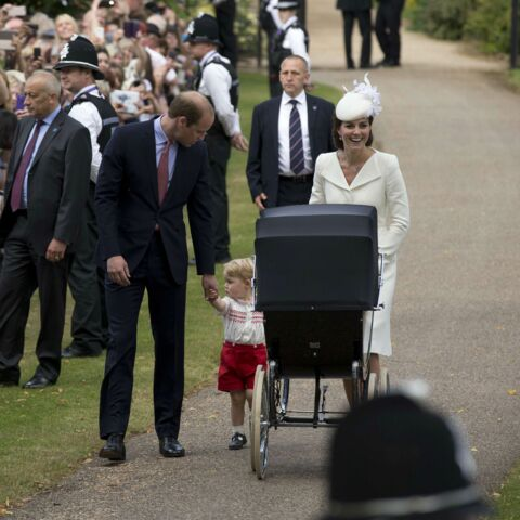 Photos- La princesse Charlotte baptisée