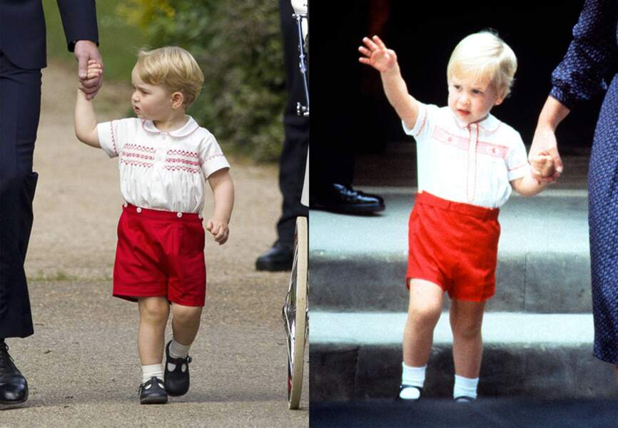 George et William, tel père tel fils