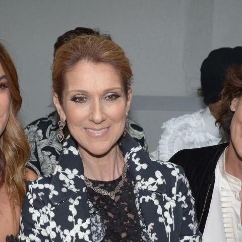 Céline Dion et Inès de la Fressange, copines de front row
