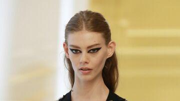 Graphisme minimaliste pour le make-up Dior