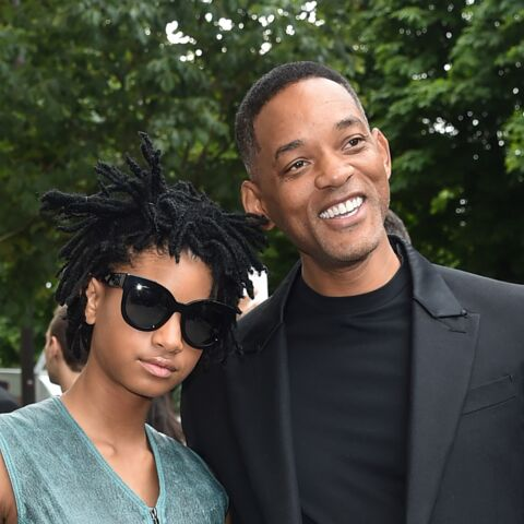 Willow et Will Smith, regards de biche chez Chanel
