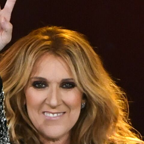 PHOTOS – Une fan de Céline Dion prête à tout pour la voir à sa sortie d'hôtel