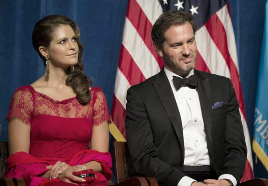 Madeleine et Chris O'Neill, qui ne portera pas le titre de prince après leur mariage