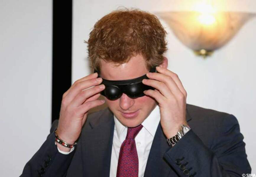 Le test des lunettes à la vision troublée