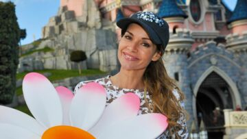 Ingrid Chauvin fête le printemps à Disneyland Paris