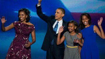 Barack Obama ne lâche pas ses filles d'une semelle