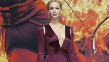 Le décolleté vertigineux de Jennifer Lawrence
