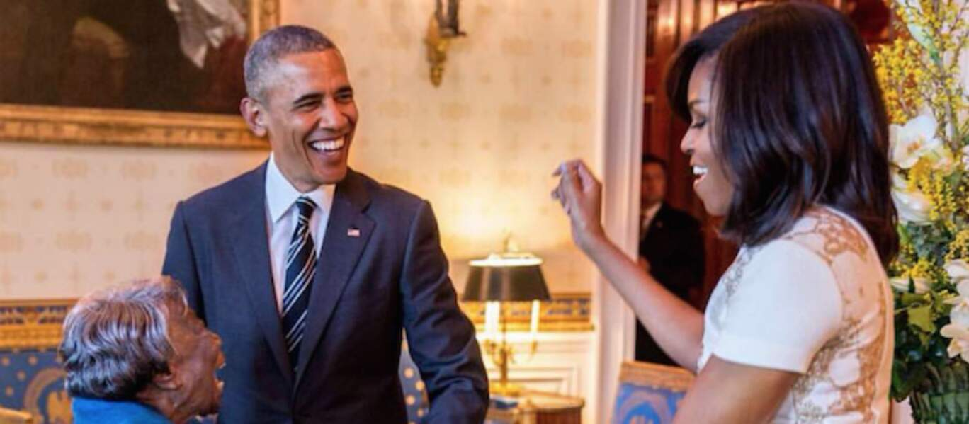 Michelle et Barack