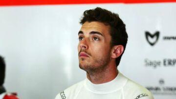 Le pilote de F1 Jules Bianchi victime d'un grave accident