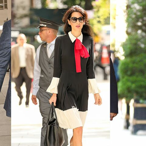 Amal Clooney, style in the city