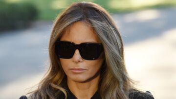 PHOTOS – Melania Trump critiquée pour ses lunettes de soleil lors de l'hommage aux victimes de Las Vegas