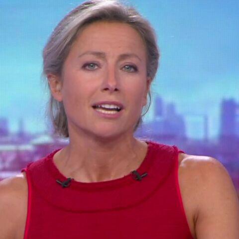 Les jambes d'Anne-Sophie Lapix à la présentation du 20H de France 2 font polémique