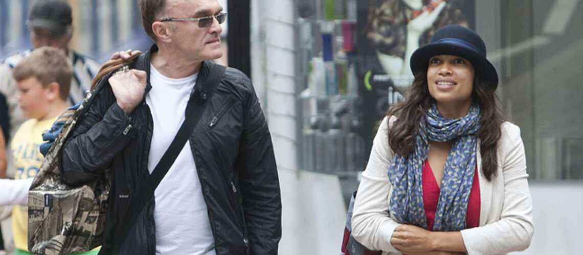 Rosario Dawson et Danny Boyle, les nouveaux amoureux des J.O.