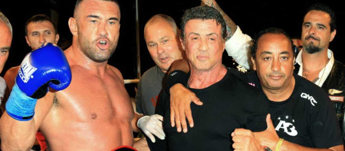 Photos- Sylvester Stallone, la boxe même en vacances