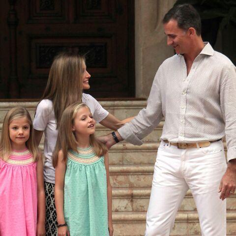 Felipe VI, un père attentionné en vacances