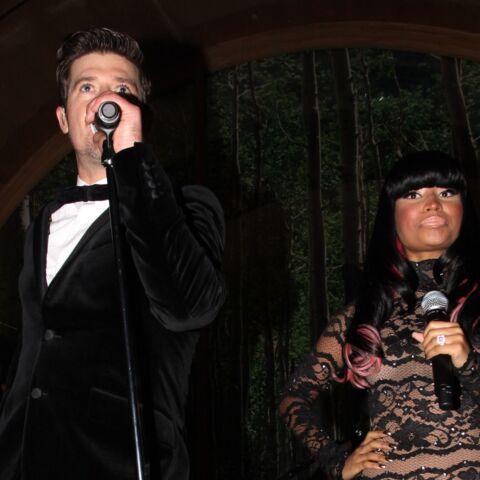 Robin Thicke et Nicki Minaj, de nouveau ensemble