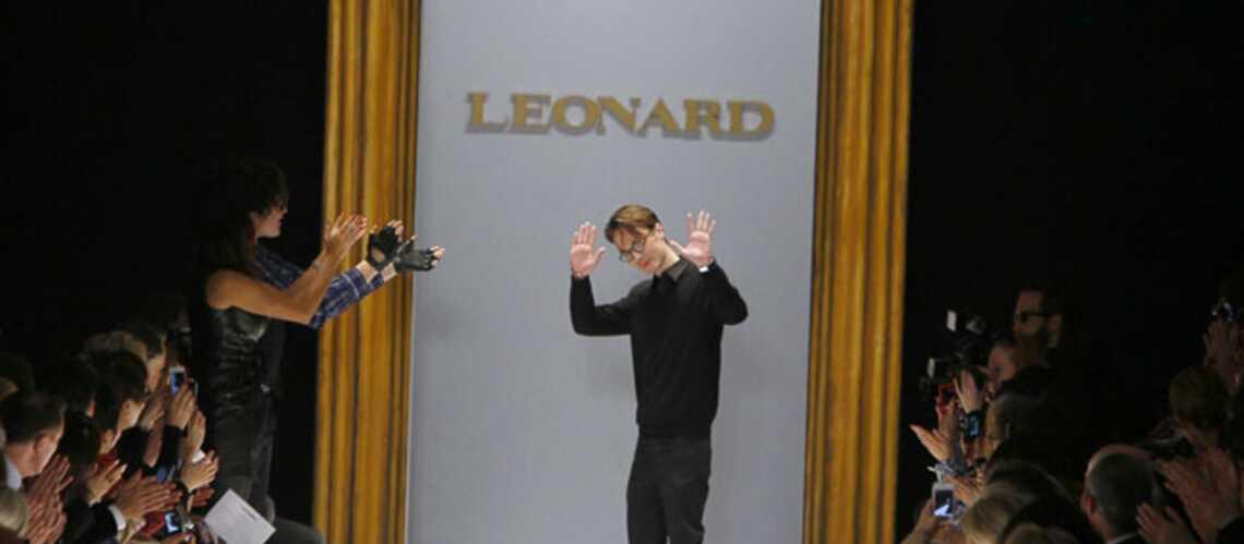 Maxime Simoëns quitte la maison Leonard