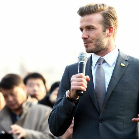 David Beckham, sexy pour Adidas