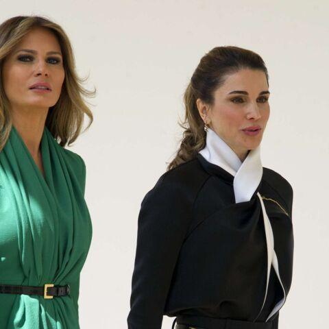 PHOTOS – Melania Trump rencontre Rania de Jordanie: un match de style et d'élégance