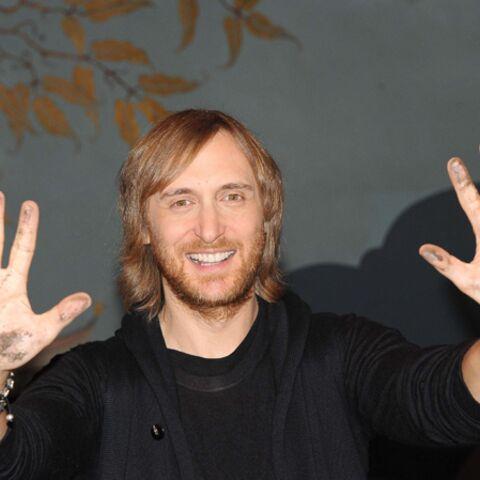 Les mains de David Guetta immortalisées