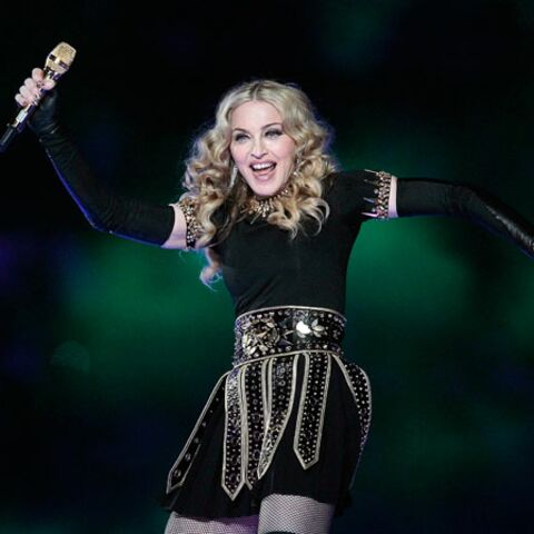 Madonna ultraglamour au Superbowl