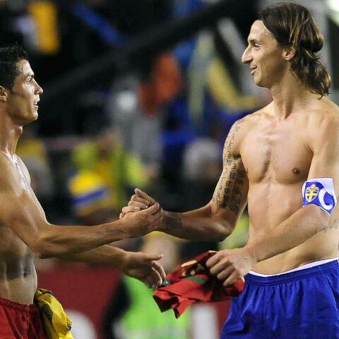 Quand Zlatan Ibrahimovic offre un cadeau à Cristiano Ronaldo