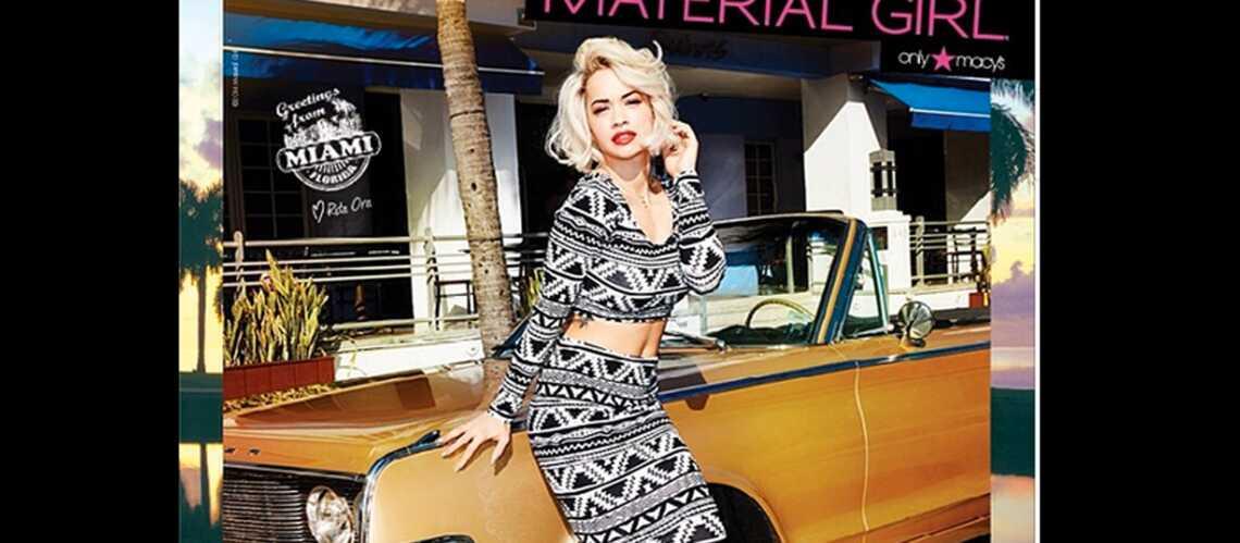 Rita Ora en Material Girl: la campagne dévoilée