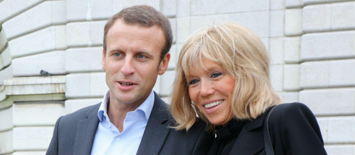 """Emmanuel Macron, son couple avec Brigitte Trogneux, de 24 ans son aînée: """"Elle a eu beaucoup plus de courage que moi"""""""