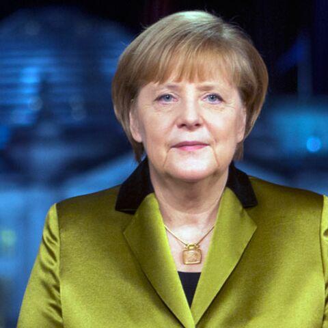 Angela Merkel victime d'un accident de ski