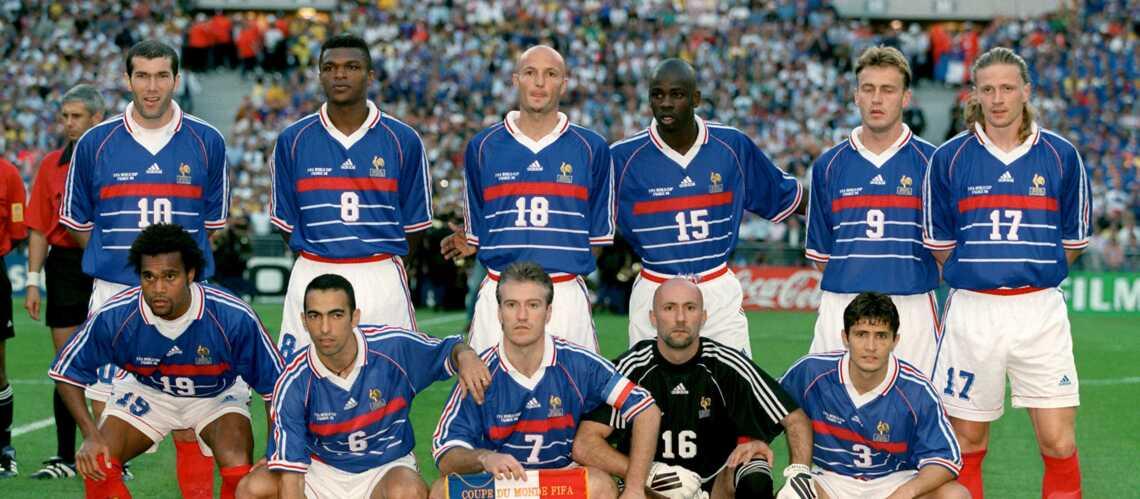 Champions du monde 98 reconversion et transformation physique gala - Coupe du monde foot 1998 ...