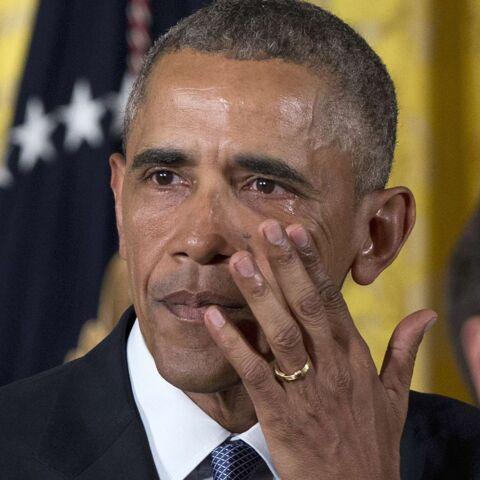 Barack Obama fend l'armure