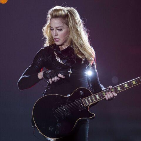 Madonna fend l'armure