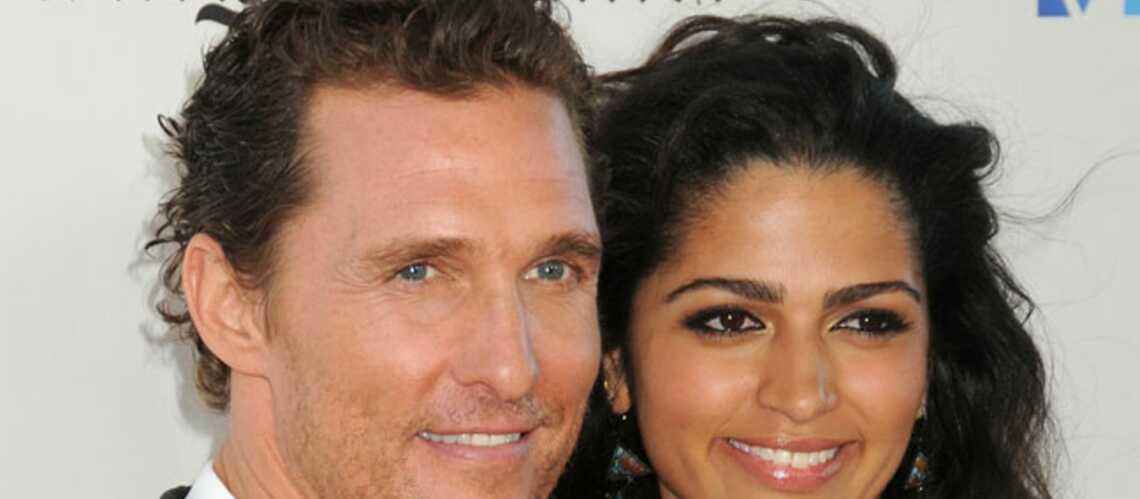 Matthew McConaughey et Camila Alvès attendent un 3e enfant